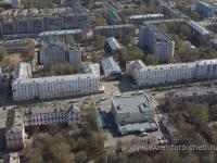 Вид с высоты на проспект Ленина