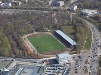 """Вид на стадион """"Труд"""""""